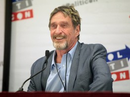 John McAfee Shills New Freedom Coin Ahead of Fall 2019 Launch image