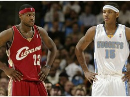 5 Most Exciting Games from LeBron James & Carmelo Anthony's 17-Year Rivalry image