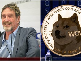 John McAfee Bashes Bitcoin and Ethereum but Touts 'Adorable' Dogecoin image
