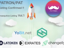 PATRON, Announces New Exchange Listings, a Buyback Program, and Coin Burn image