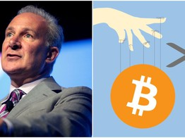 Bitcoin Just a Shady 'Ponzi Scheme,' Rants Goldbug Peter Schiff image