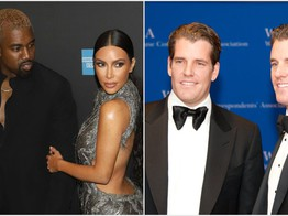 Winklevoss' Gemini Photo Bombs Kardashian-West at Met Gala After Party image