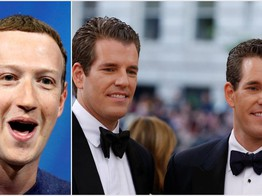 It's Water Under the Bridge as Zuckerberg & Winklevii Talk Crypto: Report image
