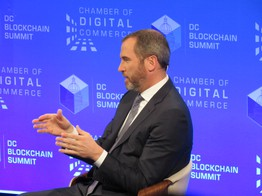 Ripple CEO Brad Garlinghouse on JPM Coin: Other Banks Won't Use It - CoinDesk image