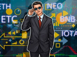 Top Crypto Performers Overview: Ethereum, Ethereum Classic, NEO, IOTA, Binance Coin, Stratis image