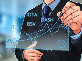 Top 5 Crypto Performers Overview: Bitcoin Cash, IOTA, TRON, Bitcoin SV, DASH image