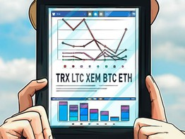 Top 5 Crypto Performers Overview: TRON, Litecoin, XEM, Bitcoin, Ethereum image