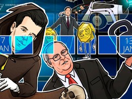 Hodler's Digest, Jan.7–13: Top Stories, Price Movements, Quotes and FUD of the Week image