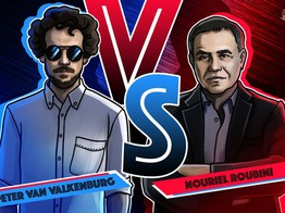 Nouriel Roubini Versus Blockchain: Notes from the Senate Floor image