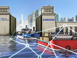 Europe's Largest Port Partners with Samsung IT Subsidiary to Test Blockchain for Shipping image