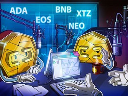 Top 5 Crypto Performers Overview: Tezos, Cardano, EOS, Binance Coin, Neo image
