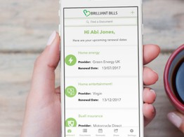 Personal & Household Financial Productivity App Brilliant Bills Now Seeking £350,000 on Seedrs image