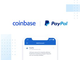 Coinbase's Canadian Customers May Now Link Their PayPal Accounts image