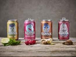 Startup to Challenge Established Soft Drink Brands, GUNNA Crowdfunds on Seedrs Quickly Topping £500,000 Goal image