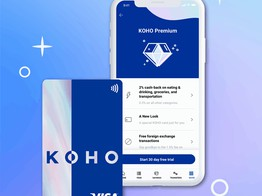 Following Series B Investment, Canadian Fintech Koho Launches New Cashback Program image
