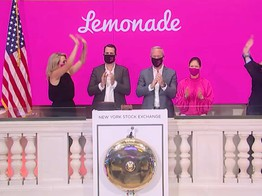 Insurtech Lemonade Prices IPO Higher than Expected, Shares Pop on First Day of Trading on NYSE, OurCrowd Books Another Win for Investors image