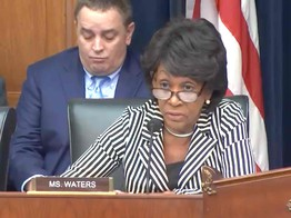 Here is Congresswoman Maxine Waters' Statement on Facebook's Crypto Libra image