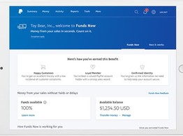 PayPal Launches FundNow to Give Select Small Businesses Access to Competed Sales Within Seconds image