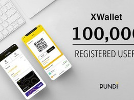 Pundi X's XWallet Surpasses 100,000 Registered Users image