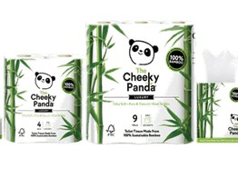 Overfunding: Bamboo Tissue Brand The Cheeky Panda Returns to Seedrs & Quickly Secures More than £1.2 Million image