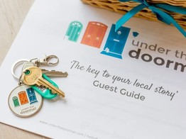 Overfunding: Home-Stay Service UnderTheDoor Quickly Secures £200,000 Funding Target on Seedrs image