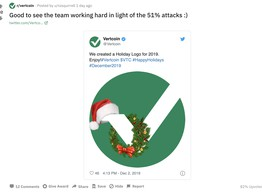 Vertcoin Sustains Minor 'Double Spend' Attack. Is This a Dry Run? image