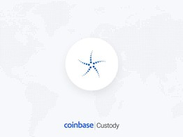 Coinbase Custody Now Supporting Deposits & Withdrawals from Security Token BCAP image