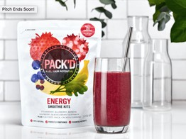 Smoothie Operator: PACK'D Smoothie Kits Now Overfunding on Crowdcube |Crowdfund Insider image