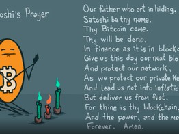 Bitcoin is the first true religion of the 21st century? - Daily Fintech image