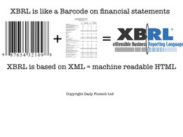 XBRL News from the 'hood and by the book, with tipping points - Daily Fintech image