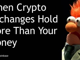 Blockchain Front Page: When Crypto Exchanges hold more than your Money image