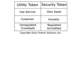 Entrepreneurs who use Utility Tokens to reduce CAC (Customer Acquisition Cost) will create the most valuable Security Tokens image