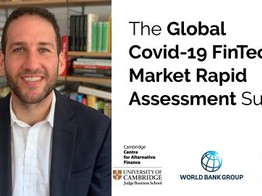 World Economic Forum on why the COVID-19 FinTech Market Impact Study is so important image