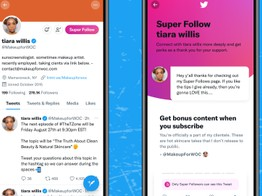 Stripe powers Twitter's Super Follows paid subscription feature image