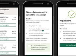Lloyds to add subscription management to mobile app image