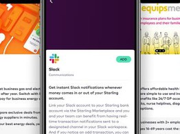 Starling to provide in-app integration to Slack, energy switching and health insurance image