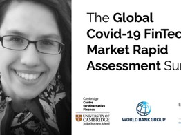 The launch of CCAF, World Bank, World Economic Forum's second Covid-19 fintech impact study image