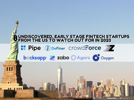 8 Undiscovered, Early Stage Fintech Startups from the US to Watch out for in 2020 | Fintech Schweiz Digital Finance News - FintechNewsCH image