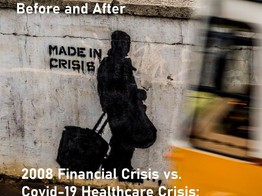 Before And After: FinTech vs. Healthcare Covid-19 Crisis Series image