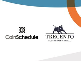COINSCHEDULE AND TRECENTO BLOCKCHAIN CAPITAL TO LAUNCH A JOINT FUND TO INVEST IN THE MOST PROMISING AND CREDIBLE TOKEN OFFERINGS AND EQUITY-BASED BLOCKCHAIN PROJECTS - NullTX image