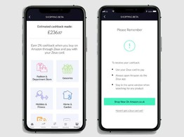 Corona and online shopping: UK fintech Zeux launches in-app Amazon shopping feature | Silicon Canals image
