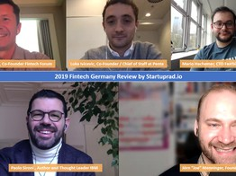 2019 Fintech Review Germany Talkshow by Startuprad.io (VIDEO) image