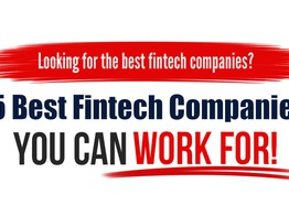 5 Best Fintech Companies to Work For | TechBullion image