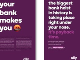 Digital Giant Ally Bank Smacks Branch-Loving Rivals With New Ads image