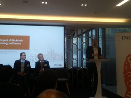 ING Hosts Spirited Debate Following Release of CEPR Blockchain Report | The Fintech Times image