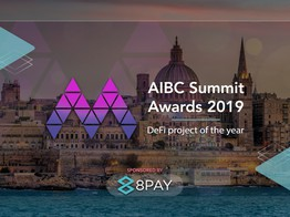 8Pay Sponsors DeFi Project of the Year 2019 Award at Europe's Largest Blockchain Conference » The Merkle Hash image
