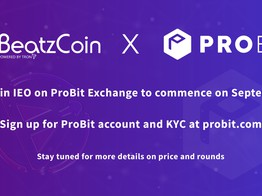 BeatzCoin IEO to be hosted on ProBit Exchange » The Merkle Hash image