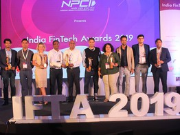 Mabel Chako, co-founder of Open wins woman leader in fintech at India FinTech Awards image