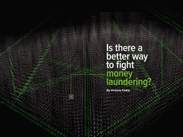 Is there a better way to fight money laundering? image