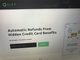 Sift raises $1.5 million to unlock your credit cards image